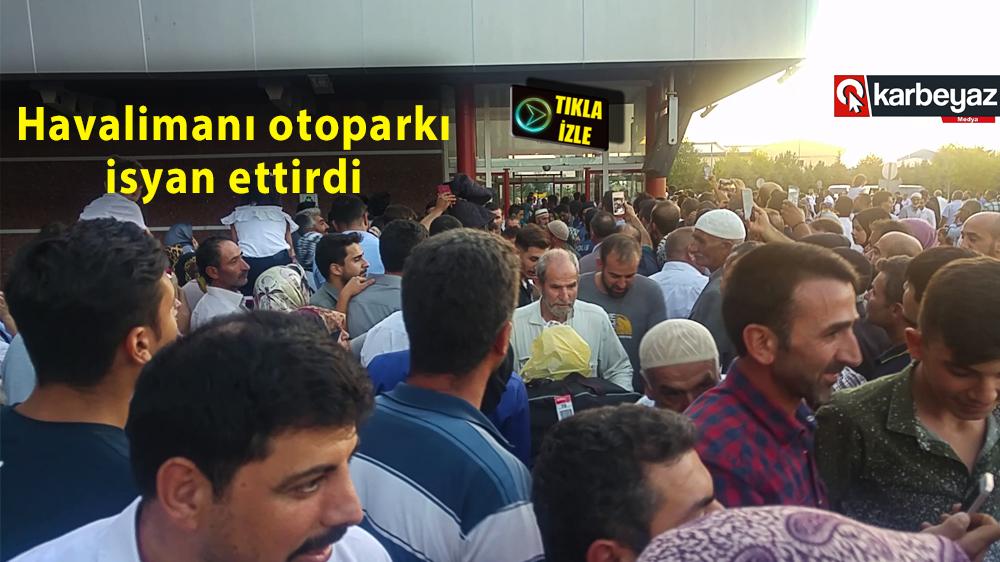 Erzurum'un hacı kafileleri dönüş yapıyor