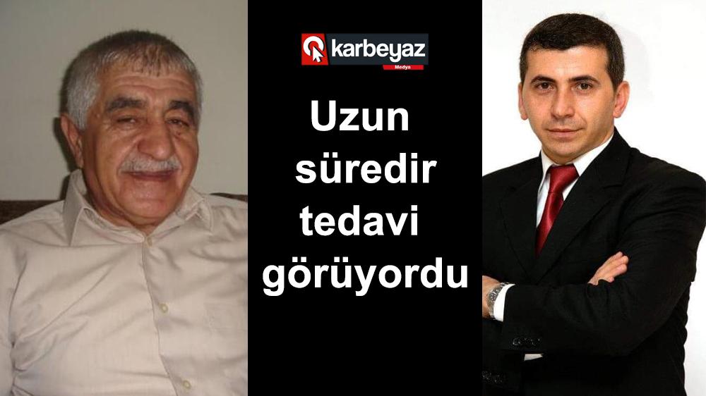 Büyükşehir Basın Müdürü Cengiz Durular'ın baba acısı