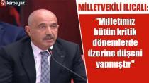 Ilıcalı: ''Erzurum Kongresi tarihin seyrini değiştiren niteliktedir''