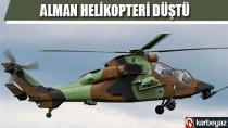 Mali'de Alman askeri helikopteri düştü