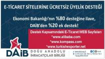 E-ticaret sitelerine ücretsiz üyelik fırsatı