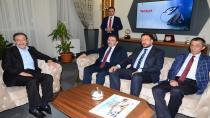Selami Altınok'tan Palandöken Belediyesi'ne ziyaret