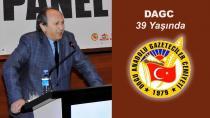 Doğu Anadolu Gazeteciler Cemiyeti 39 yaşına girdi