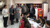Gazioğlu, ilçedeki okul ve öğretmenleri ziyaret etti