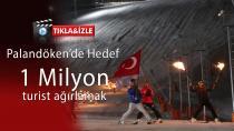 Palandöken Ejder 3200 Kayak Sezonu Açıldı