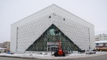 Palandöken'in ikinci kültür merkezi göz kamaştırıyor