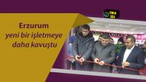Erzurum'da Rabia Eşarp ve Şal Dünyası Açıldı
