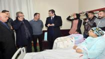 Erzurum'da 2019 Yılının ilk bebeği Mehmet Akif