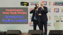 Cumhurbaşkanı Erdoğan Erzurum adaylarını tanıttı