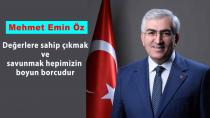 Başkan Öz'den Çanakkale Zaferi mesajı