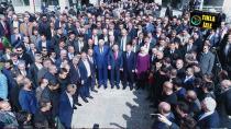 Erzurum'da başkanlar mazbatalarını aldı
