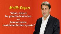 Çat Belediye Başkanı Yaşar'dan Kandil mesajı