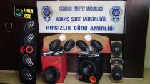 Erzurum'da otomobil fareleri yakayı ele verdi