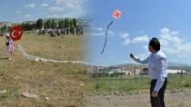 Uçurtmasını alan çocuklar Esma Park'a koştu.