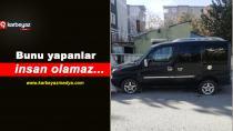 Dadaşkent'te 20 aracın lastikleri kesildi