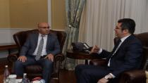 Başkonsolos NuruGuliyev'den,Vali Okay Memiş'e ziyaret