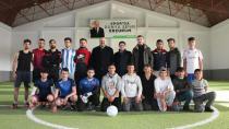 Aziziye'de gençlerin futbol turnuvası