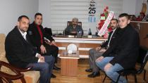 Palandöken Ülkü Ocakları'ndan Karbeyaz'a ziyaret