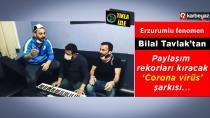 Bilal Tavlak 'Evde kal' sloganına kendi stiliyle destek verdi
