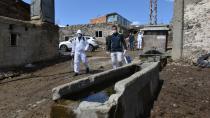 Yakutiye Belediyesi köyleri de dezenfekte ediyor