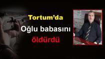 Tortum'da bir genç annesiyle tartışan babasını vurdu