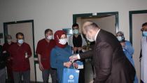 Sağlık Personeline Başkan Orhan Moral Desteği