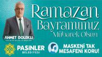 Başkan Dölekli'den Ramazan Bayramı Mesajı