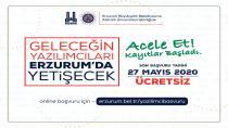 Erzurum'da şimdi yazılım vakti