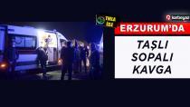 Erzurum'da alacak verecek kavgası 1'i ağır 4 yaralı