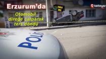 Erzurum'da trafik kazası 1 yaralı