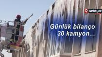 Erzurum'da buz kırma timleri boş durmuyor