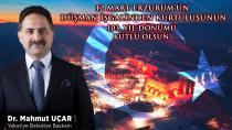 Yakutiye Belediye Başkanı Dr. Mahmut Uçar'dan 12 Mart Mesajı