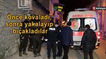 Erzurum'da gençler kavga etti, 1 kişi yaralandı