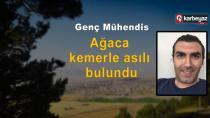 Erzurum'da inşaat mühendisi canına kıydı